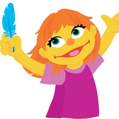 Sesame Street character with autism
